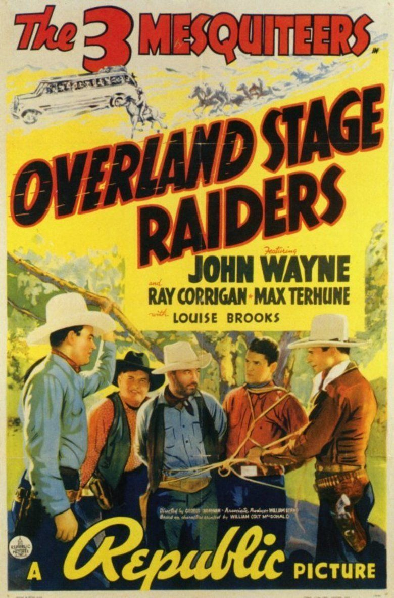 Overland Stage Raiders movie poster