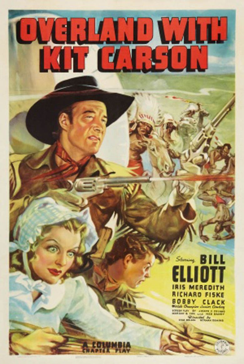 Overland with Kit Carson movie poster