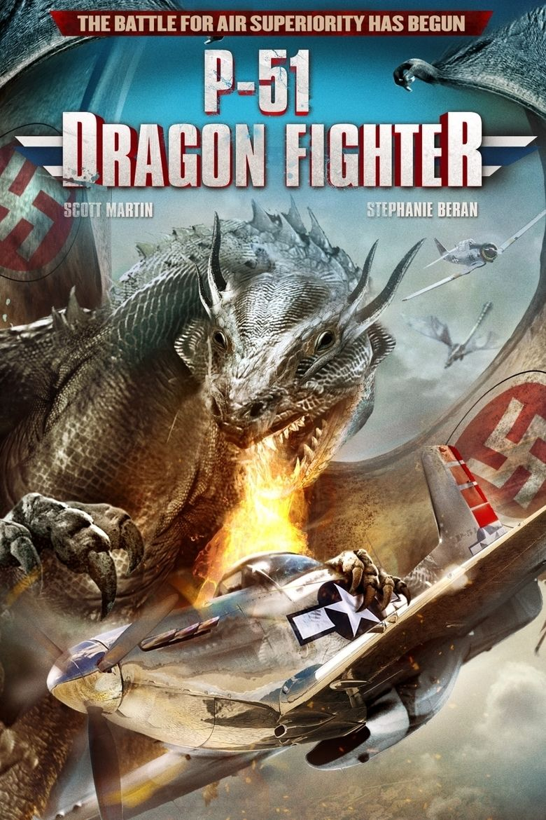 P 51 Dragon Fighter movie poster
