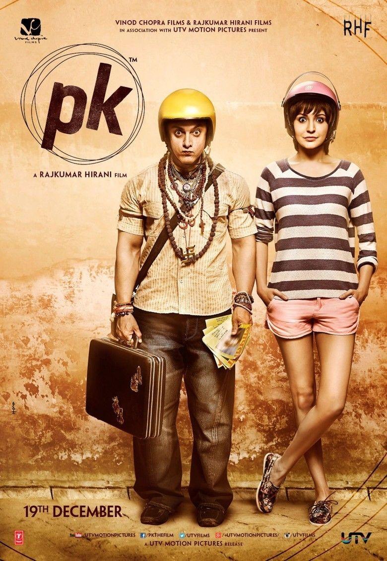 PK (film) movie poster