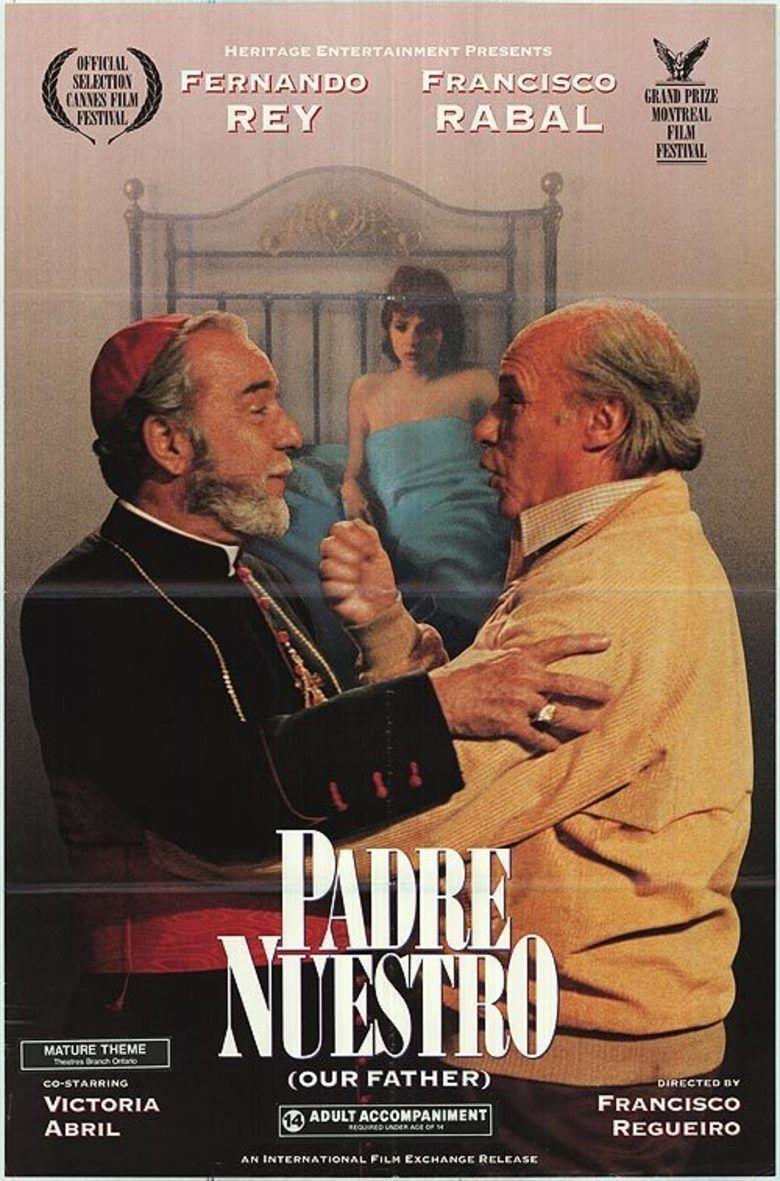 Padre nuestro (1985 film) movie poster