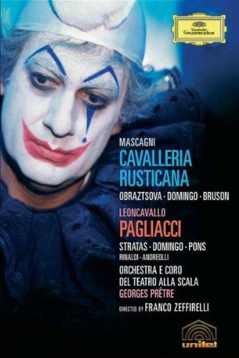 Pagliacci (1982 film) movie poster