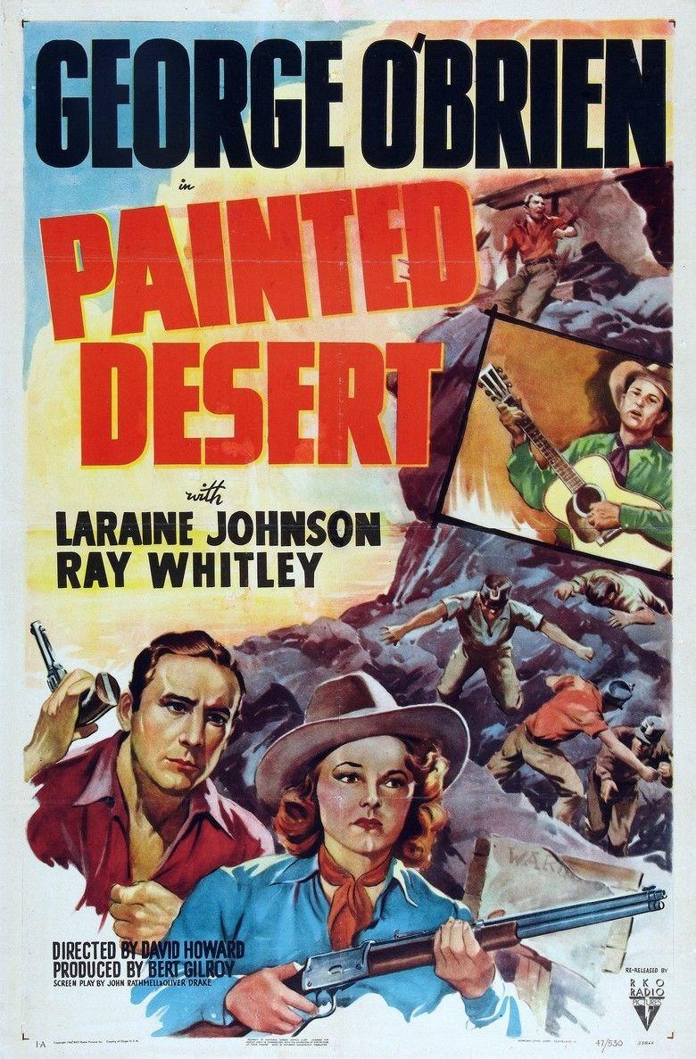 Painted Desert (1938 film) movie poster