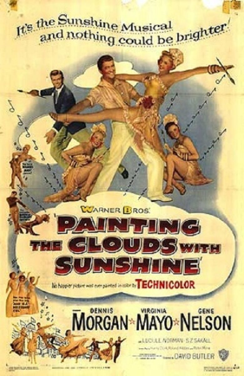 Painting the Clouds with Sunshine (film) movie poster