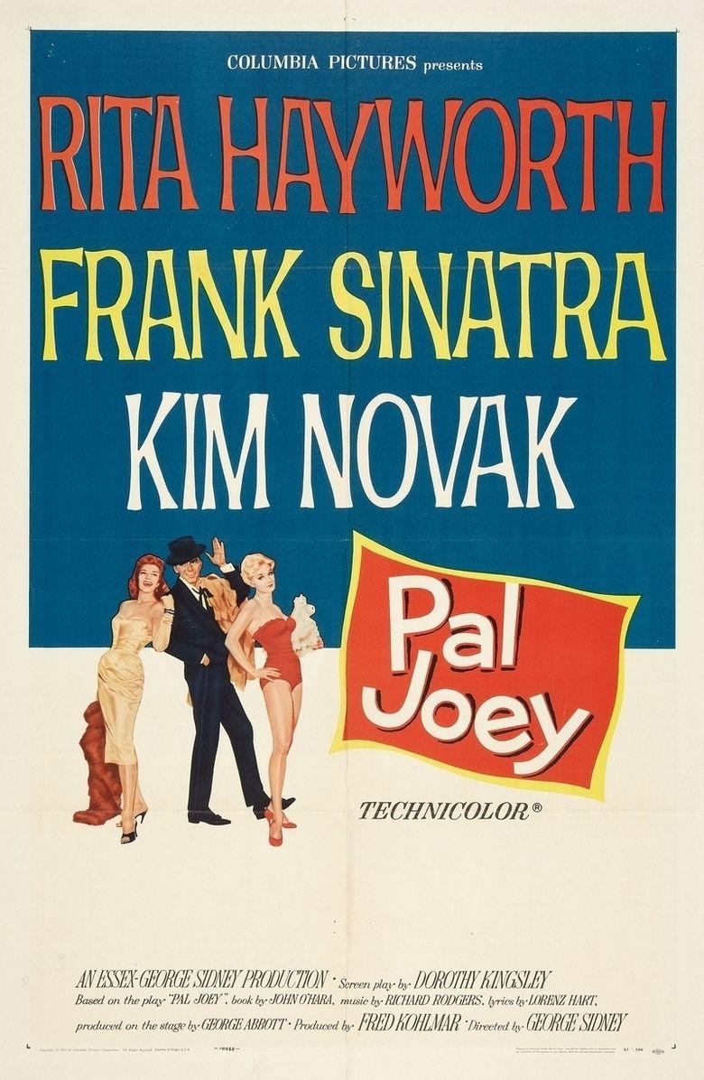Pal Joey (film) movie poster