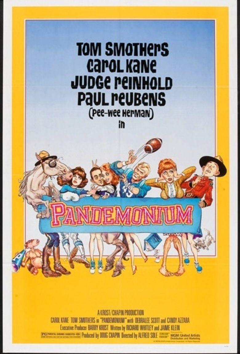 Pandemonium (film) movie poster