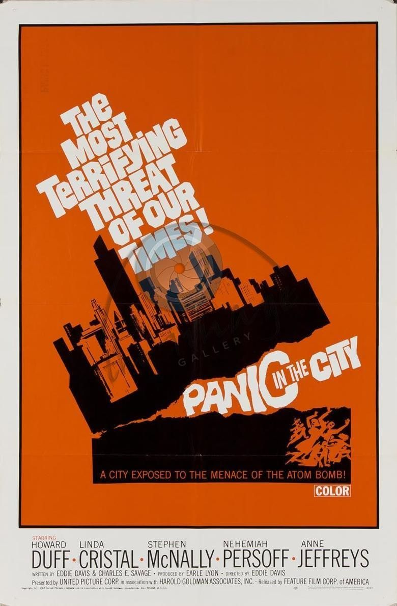 Panic in the City movie poster
