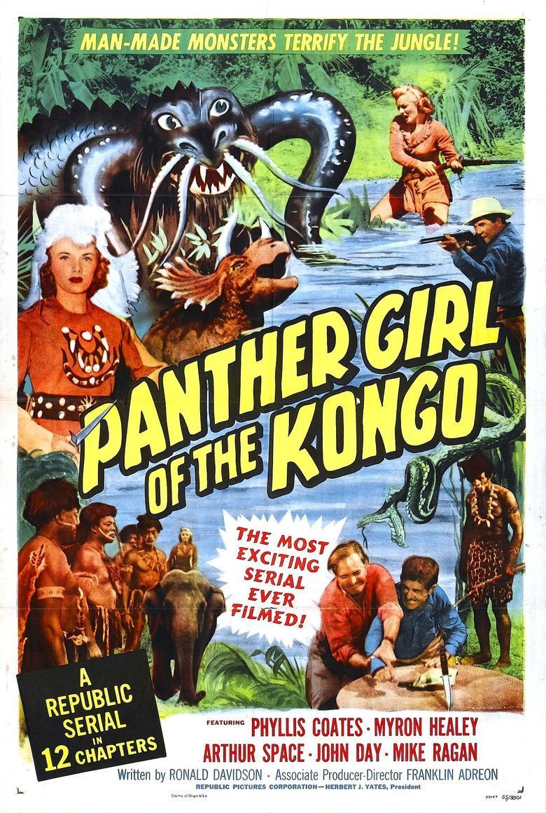 Panther Girl of the Kongo movie poster