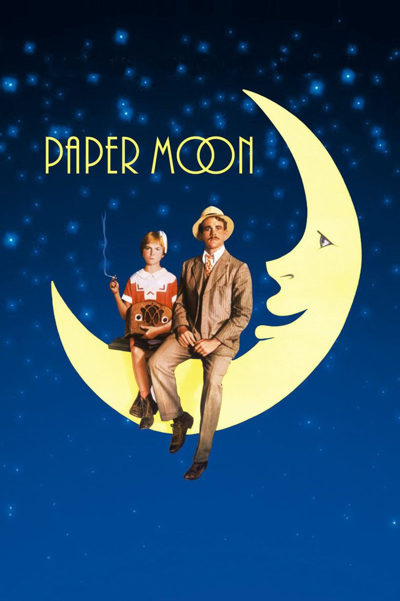 Paper Moon (film) movie poster