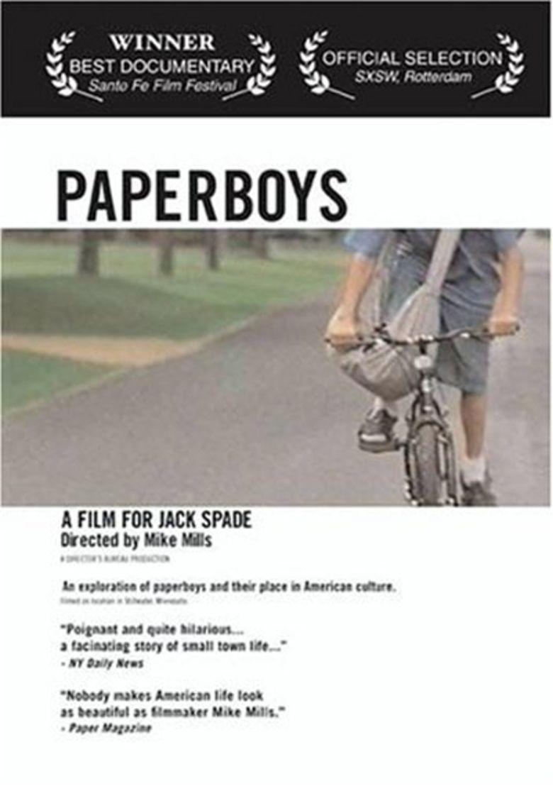 Paperboys (film) movie poster
