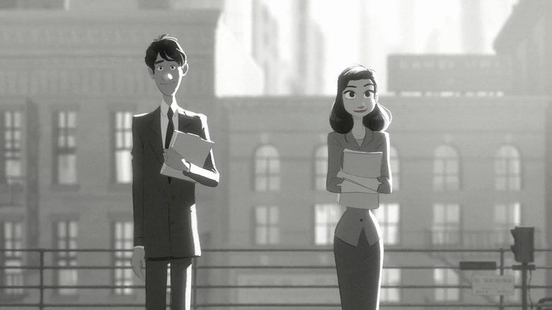 Paperman movie scenes