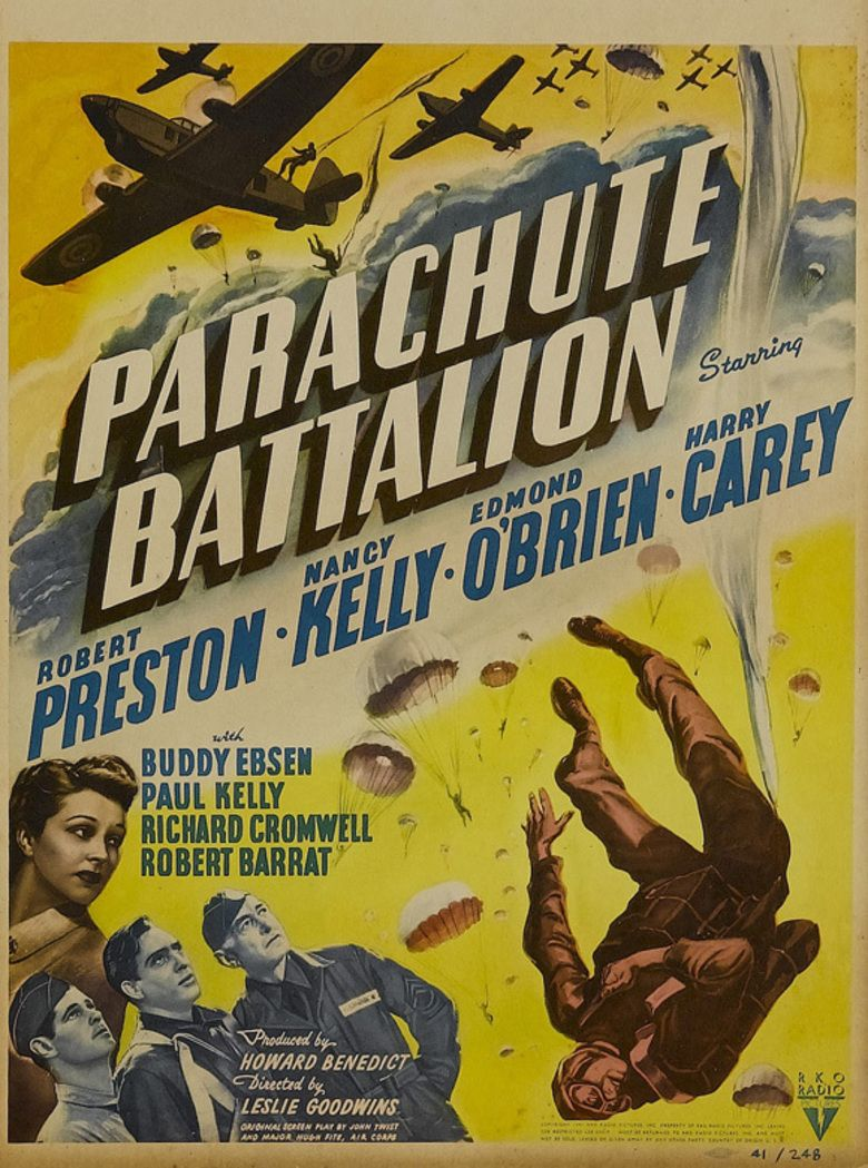 Parachute Battalion movie poster