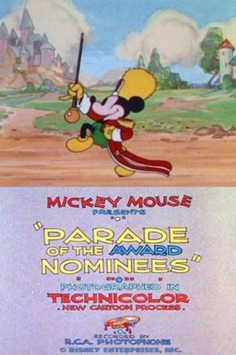 Parade of the Award Nominees movie poster