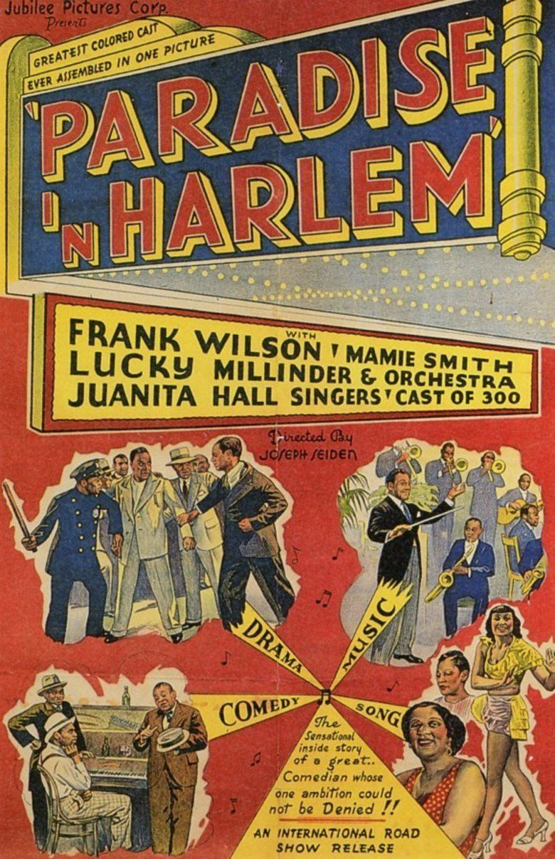 Paradise in Harlem movie poster