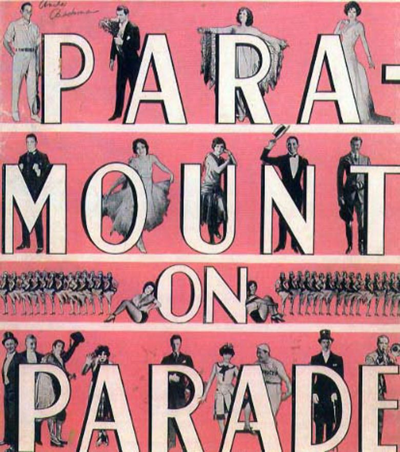 Paramount on Parade movie poster