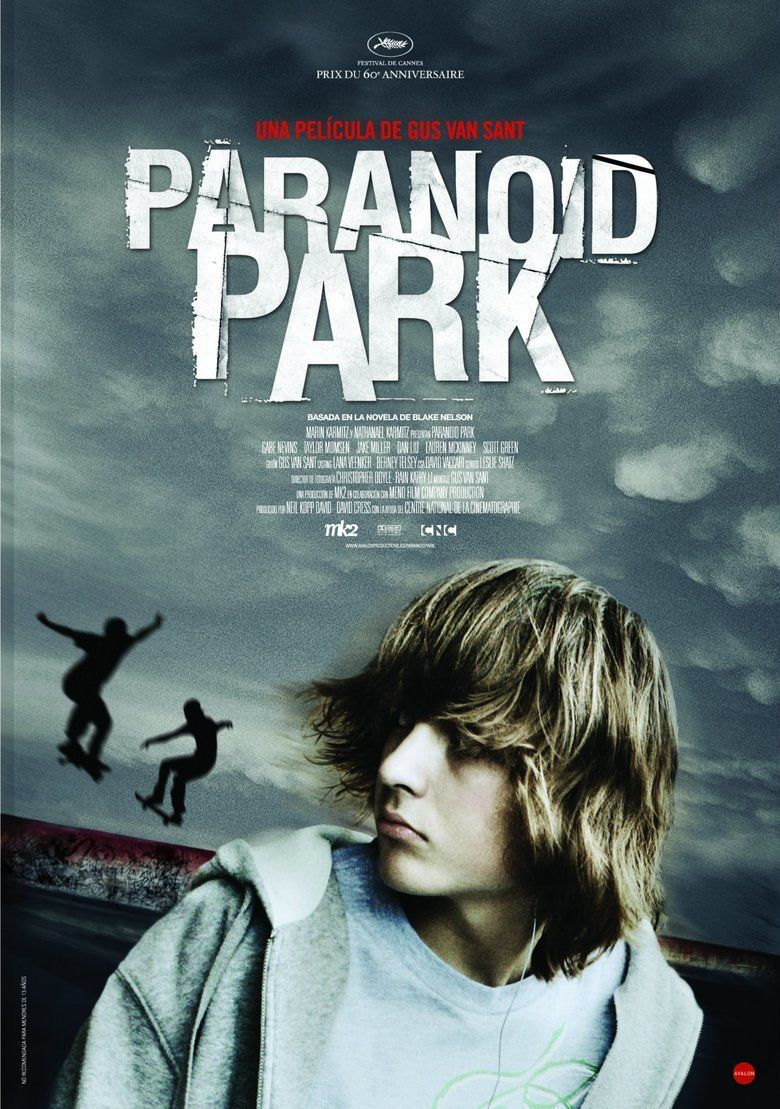 Paranoid Park (film) movie poster