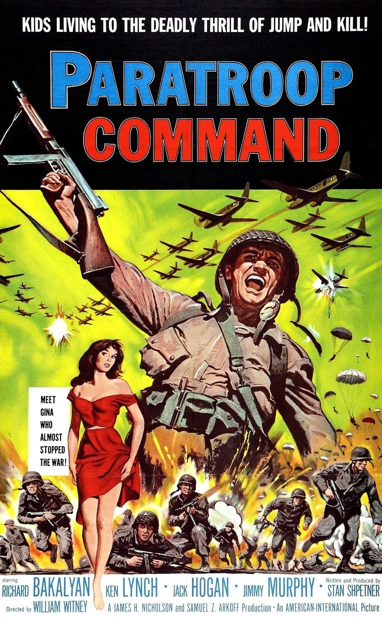 Paratroop Command movie poster