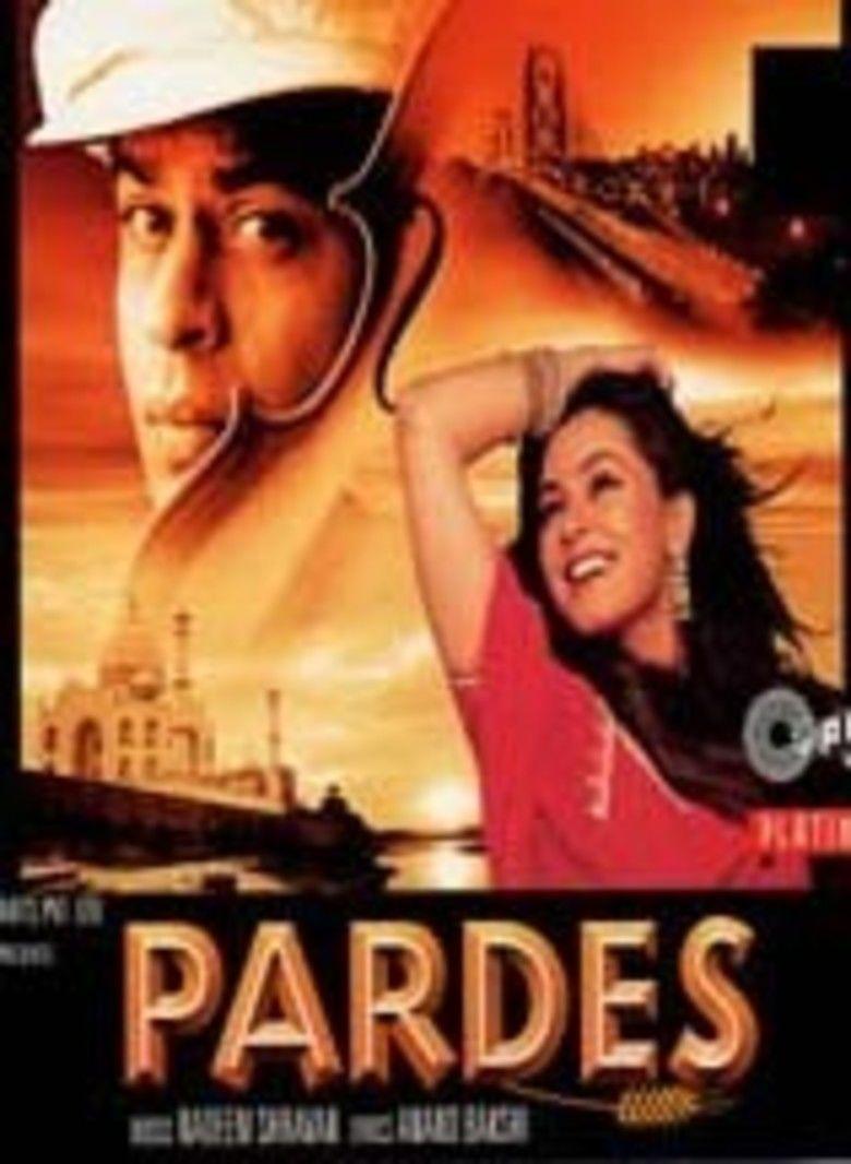 Pardes (film) movie poster