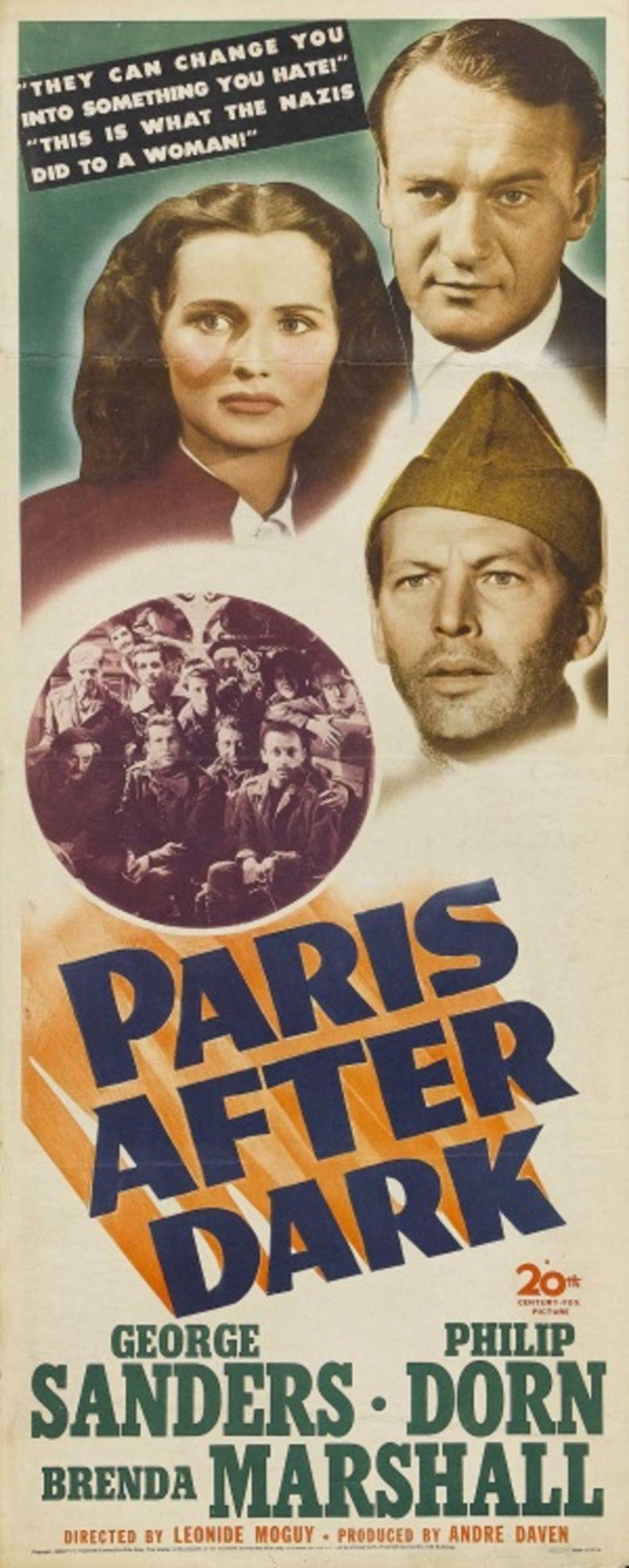 Paris After Dark movie poster