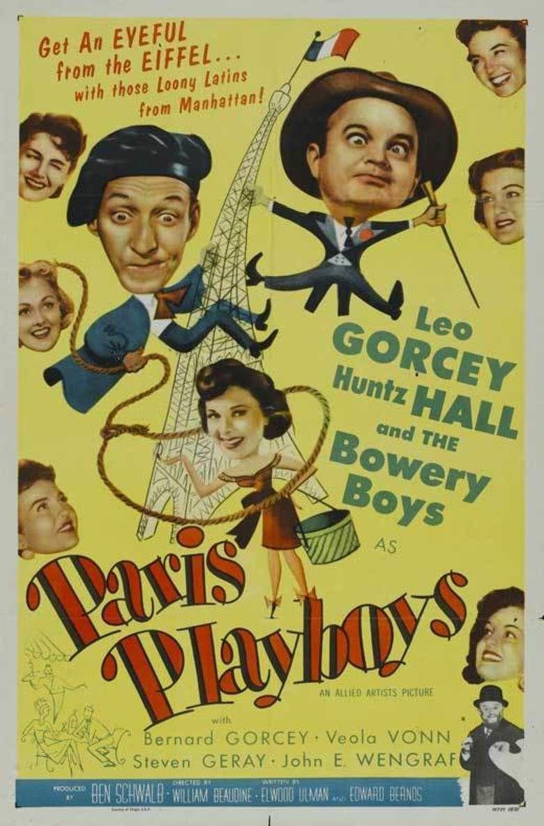 Paris Playboys movie poster