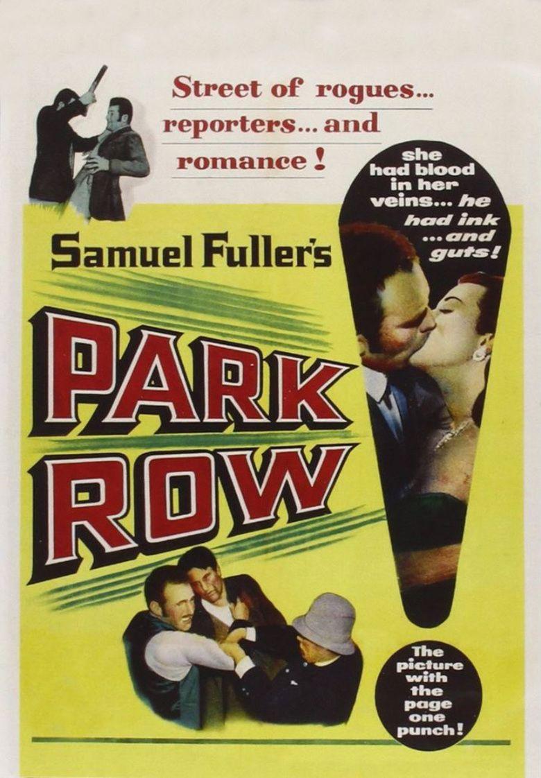 Park Row (film) movie poster