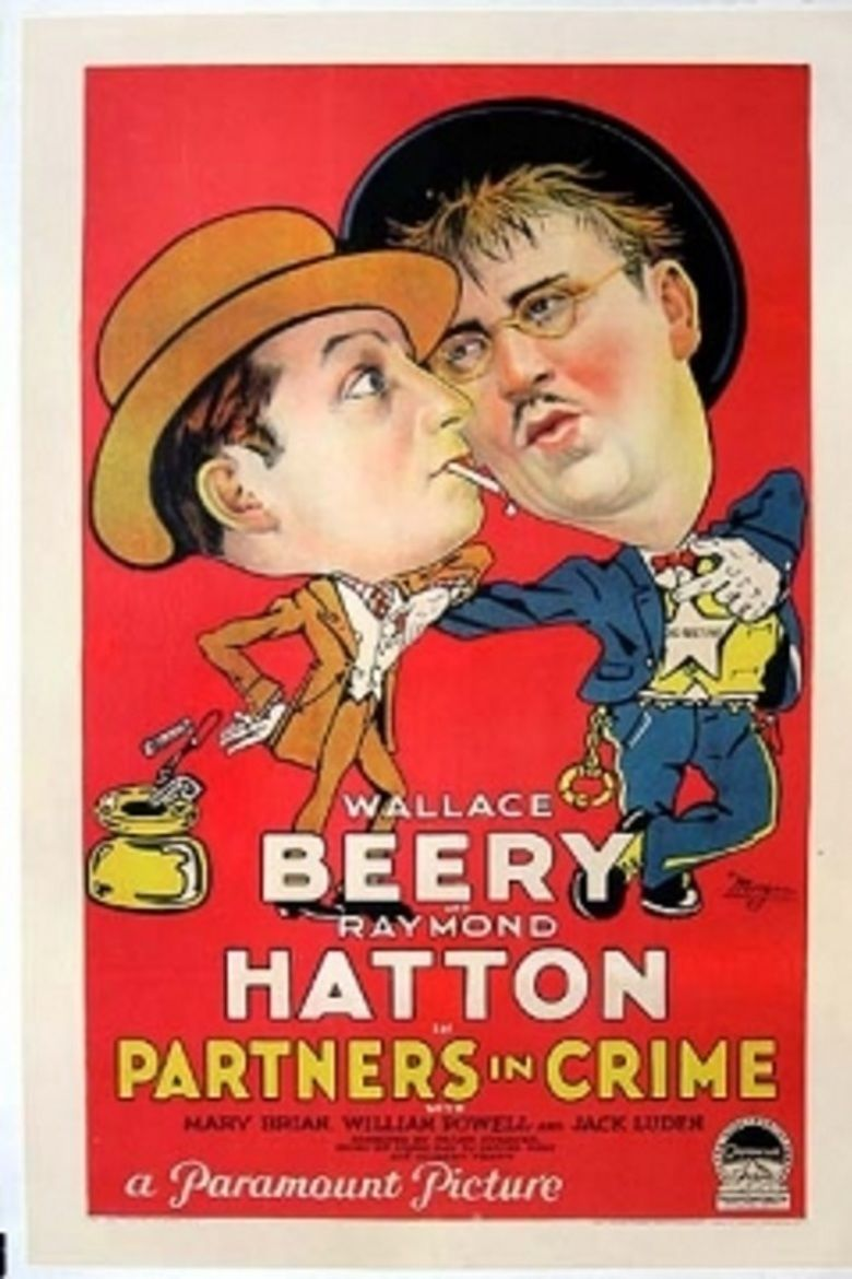 Partners in Crime (1928 film) movie poster