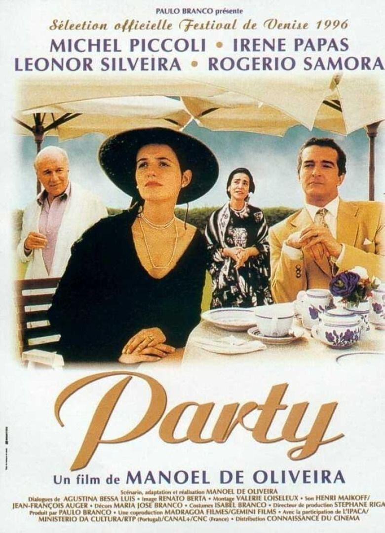 Party (1996 film) movie poster