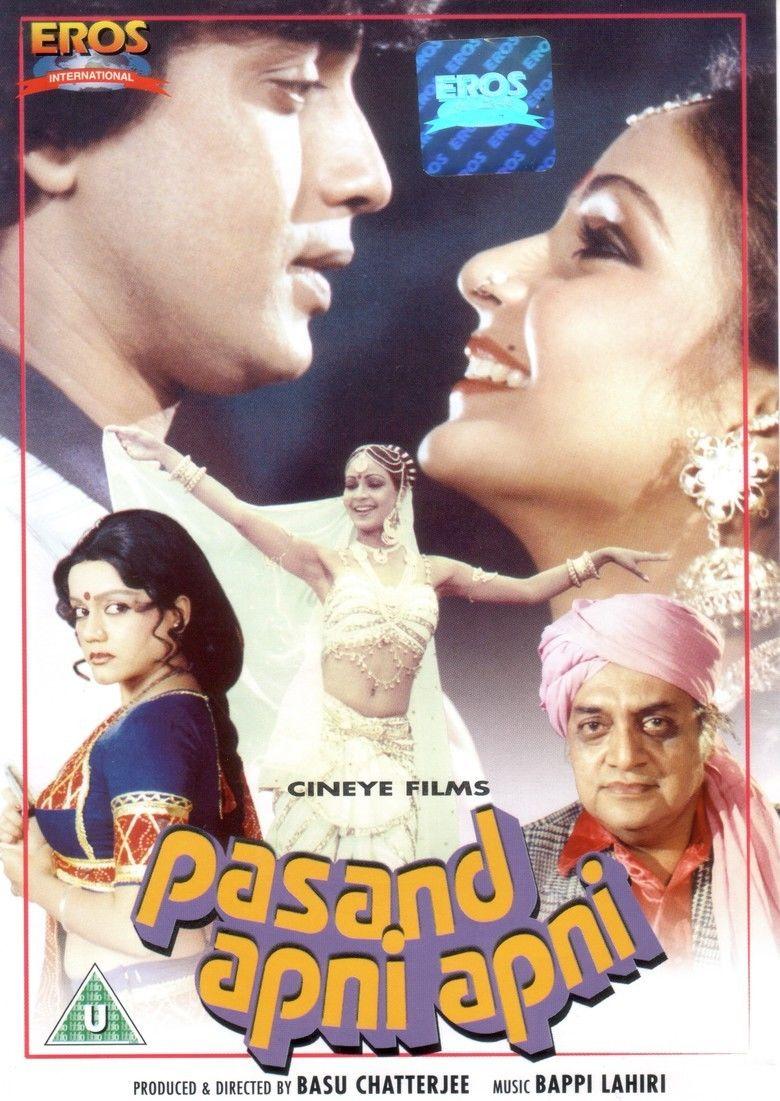 Pasand Apni Apni movie poster