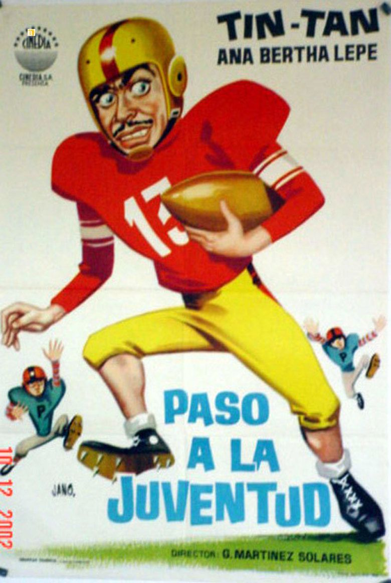 Paso a la juventud! movie poster