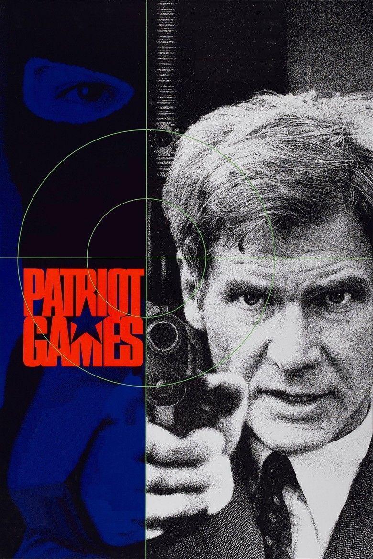 Patriot Games (film) movie poster