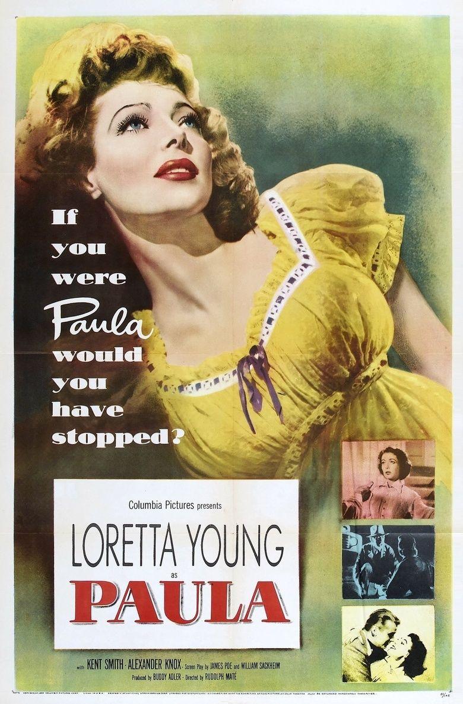 Paula (film) movie poster