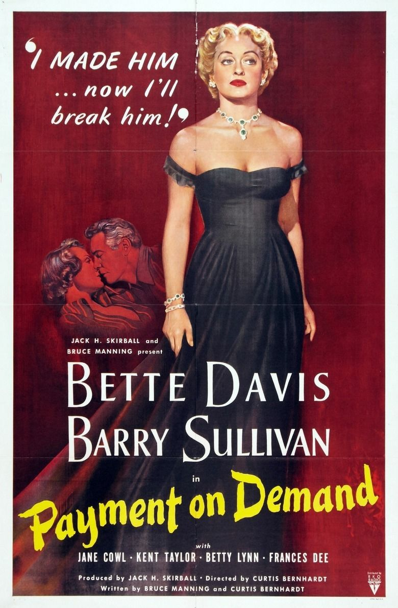 Payment on Demand movie poster