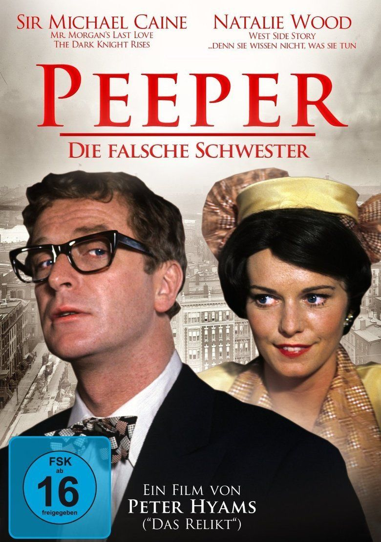 Peeper (film) movie poster