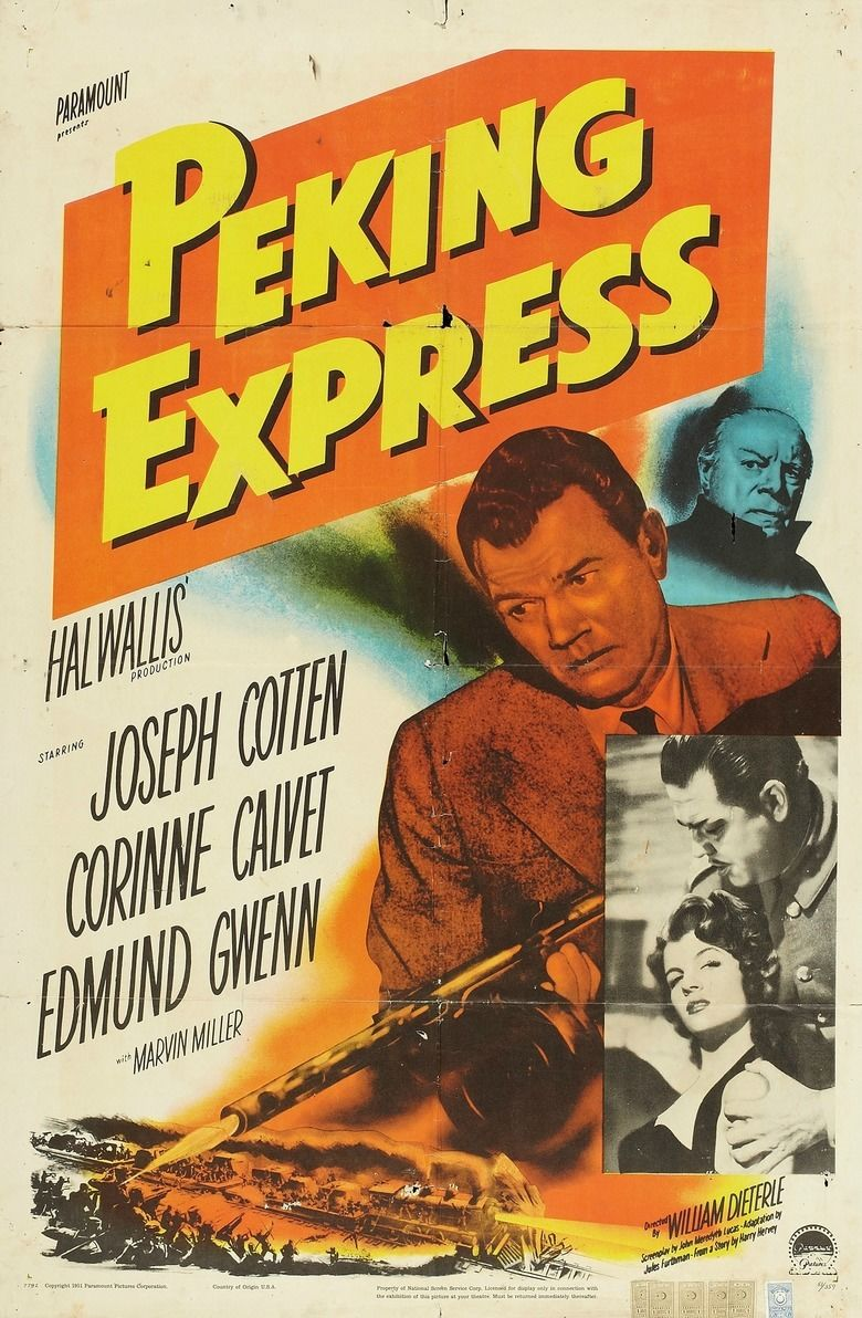 Peking Express (film) movie poster