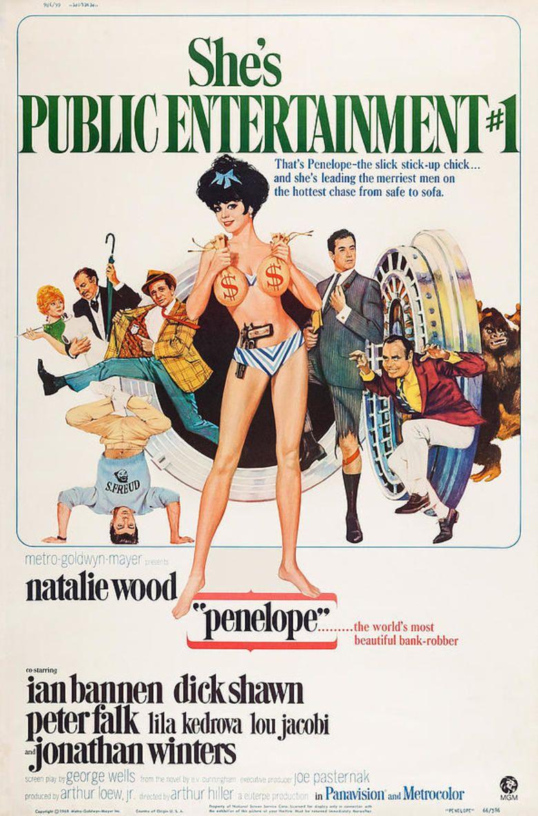 Penelope (1966 film) movie poster