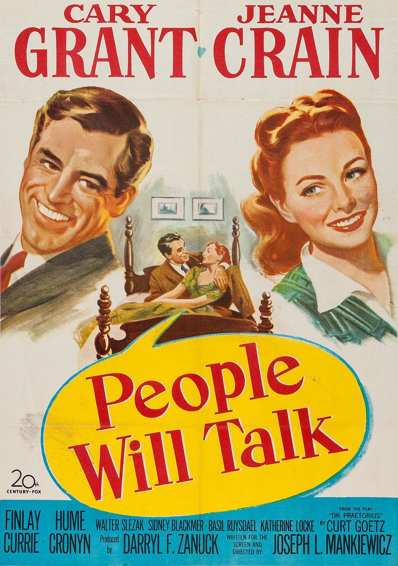 People Will Talk movie poster