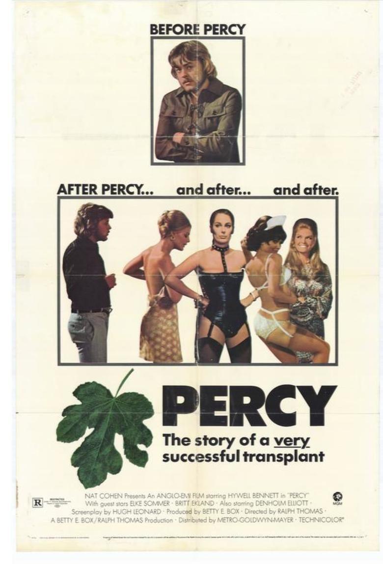 Percy (film) movie poster