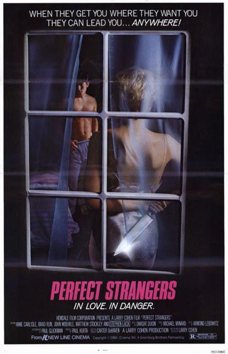 Perfect Strangers (1984 film) movie poster