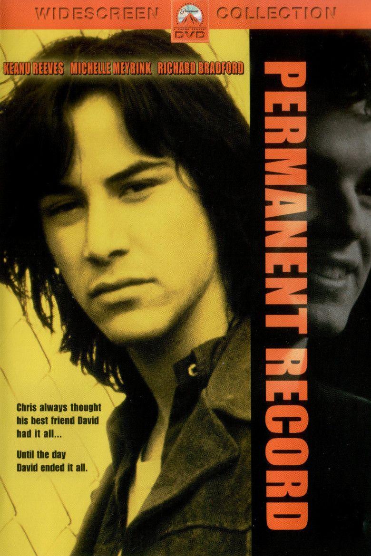 Permanent Record (film) movie poster