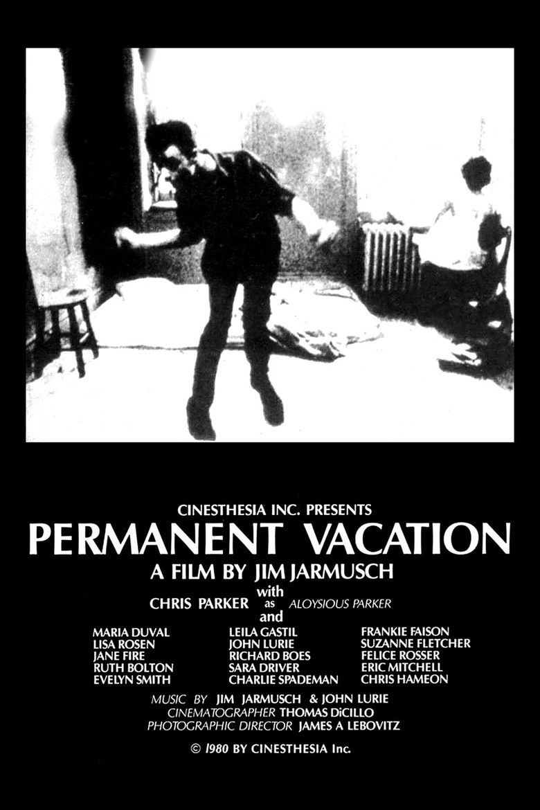 Permanent Vacation (1980 film) movie poster