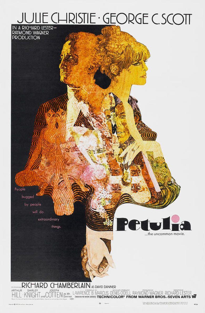 Petulia movie poster