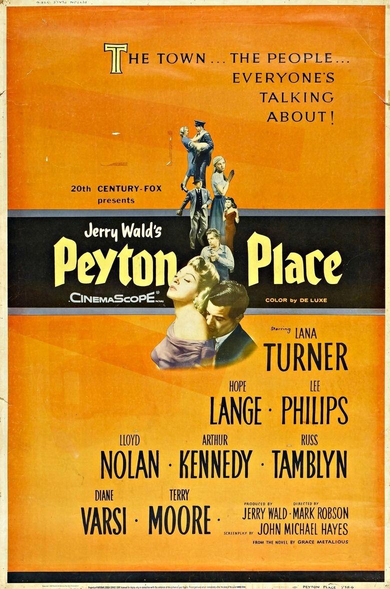 Peyton Place (film) movie poster