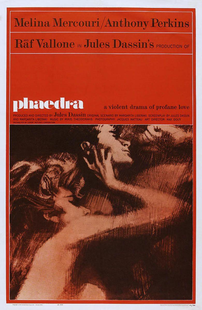 Phaedra (film) movie poster