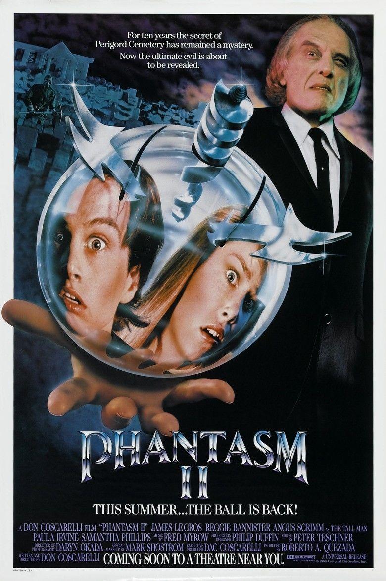 Phantasm II movie poster