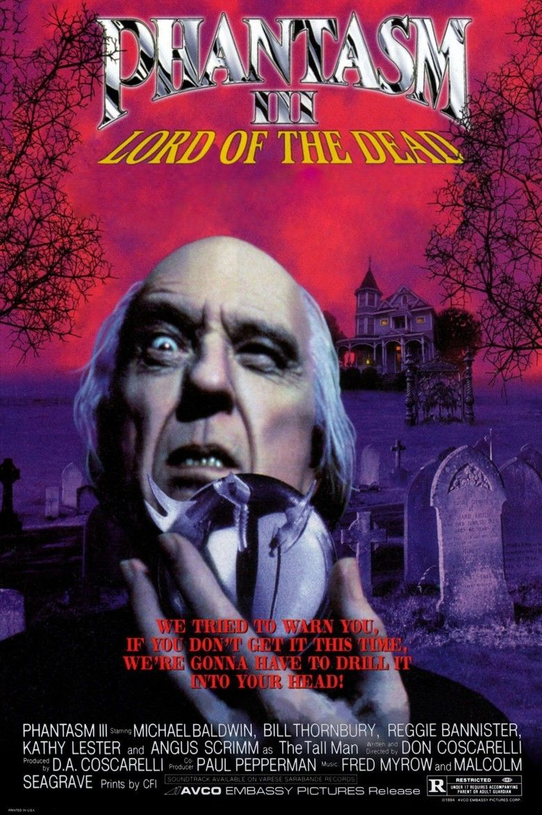 Phantasm III: Lord of the Dead movie poster