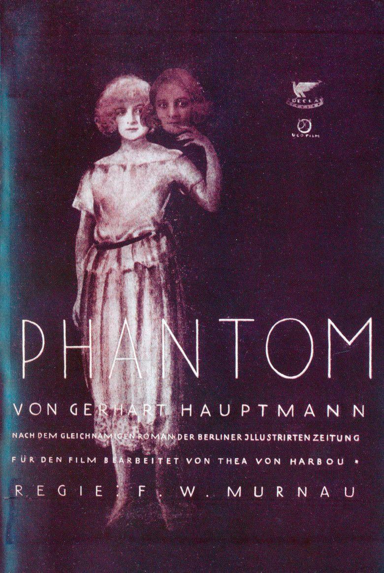 Phantom (1922 film) movie poster
