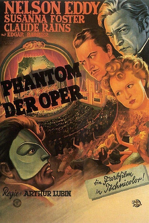 Phantom of the Opera (1943 film) movie poster