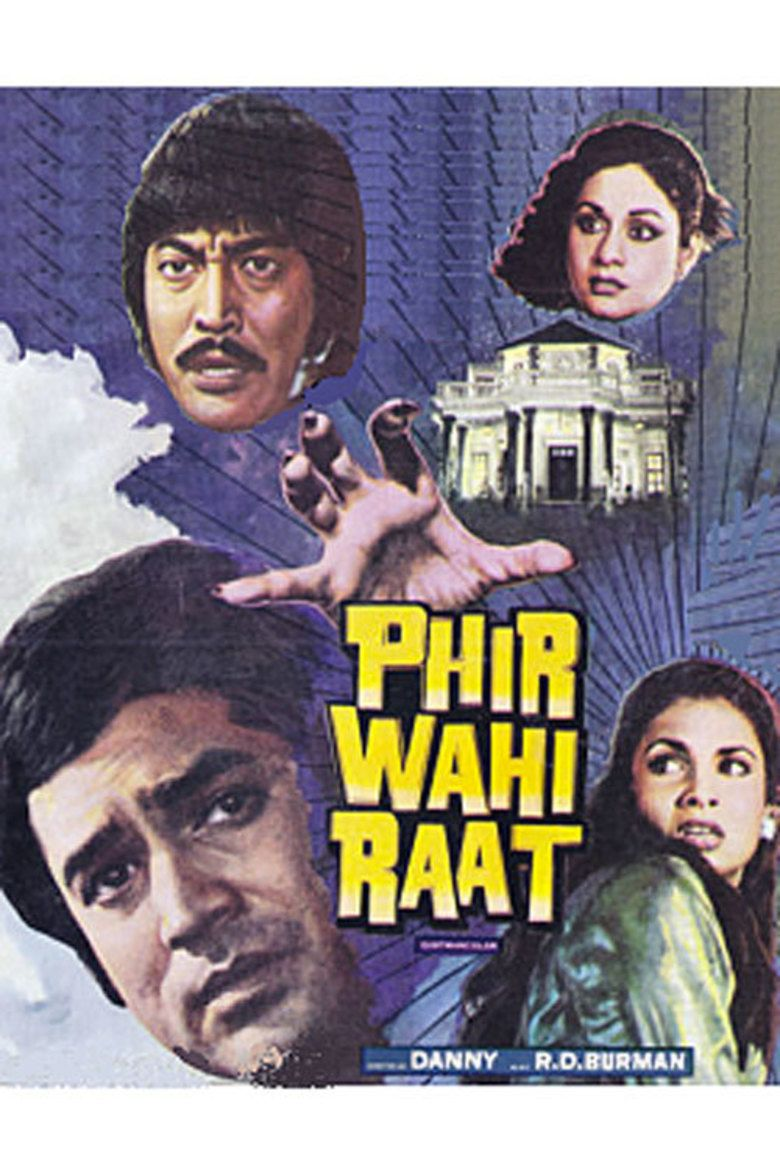 Phir Wahi Raat movie poster