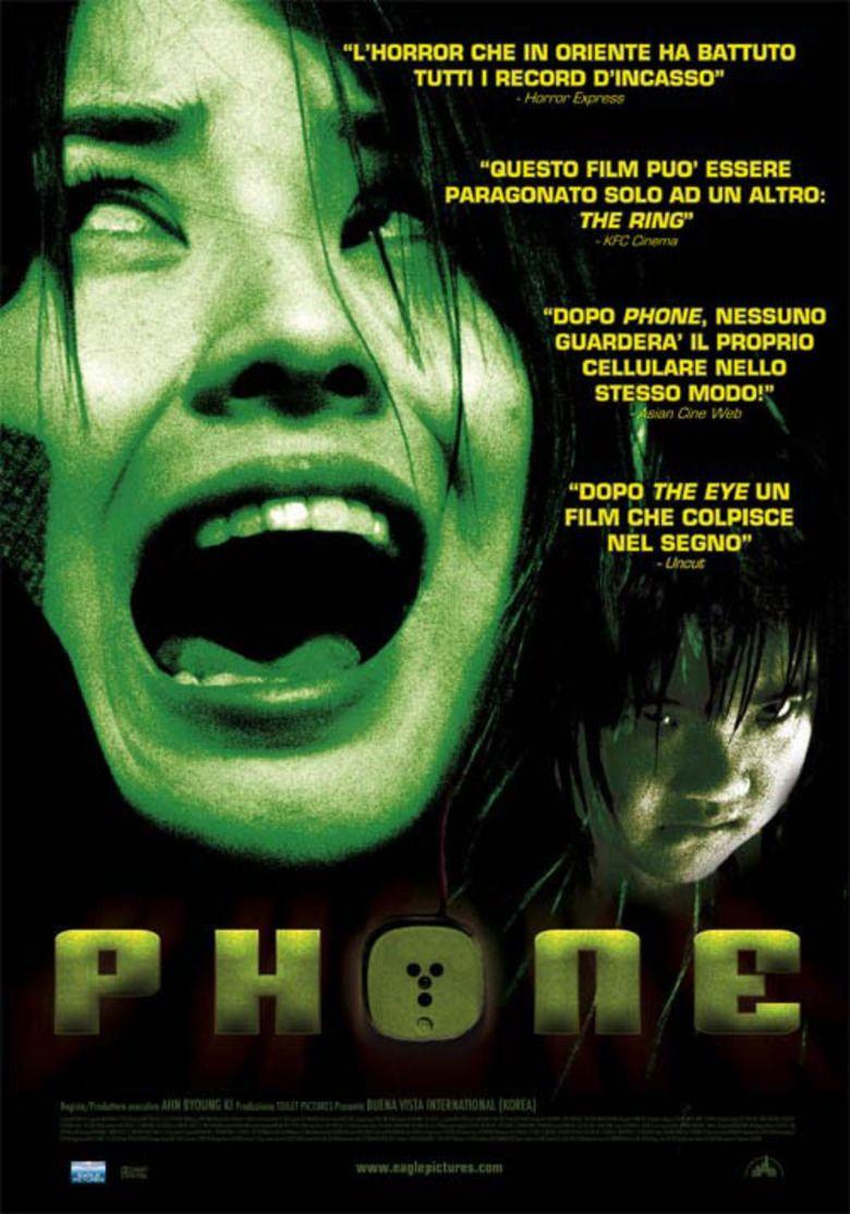 Phone (film) movie poster