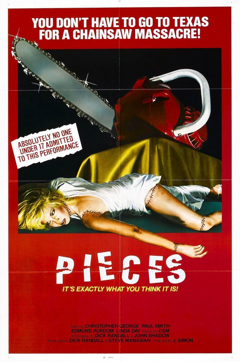 Pieces (film) movie poster